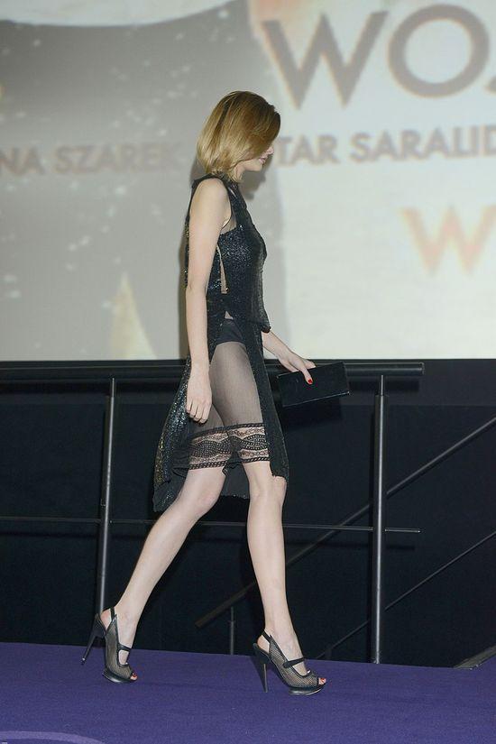 Anna Szarek w tej samej sukni co Małgorzata Kożuchowska