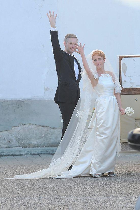 Suknia ślubna Kasi Zielińskiej to dzieło Gosi Baczyńskiej