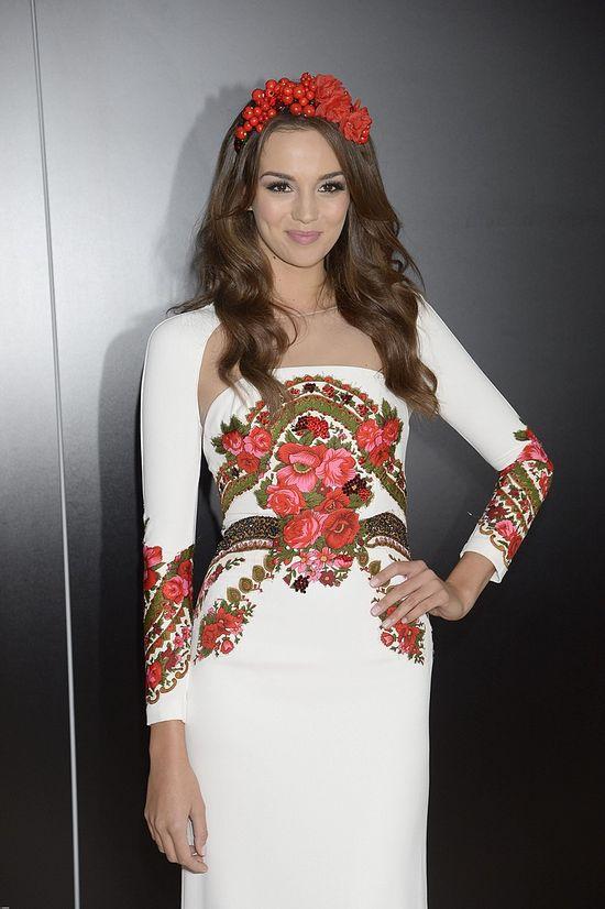 Suknia narodowa Marceli Chmielowskiej na Miss Universe 2014