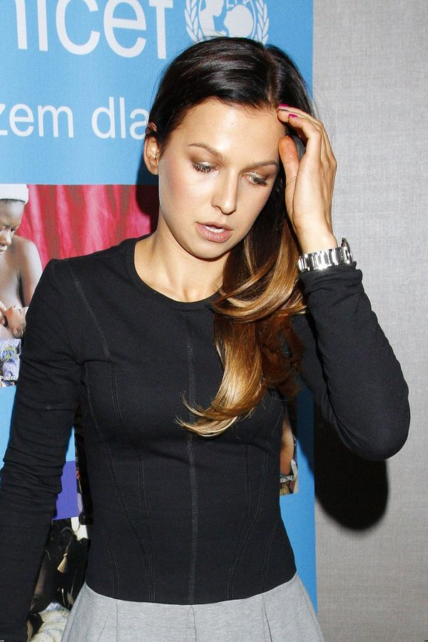 Anna Lewandowska zachwyca w sukience za 200 złotych! (FOTO)