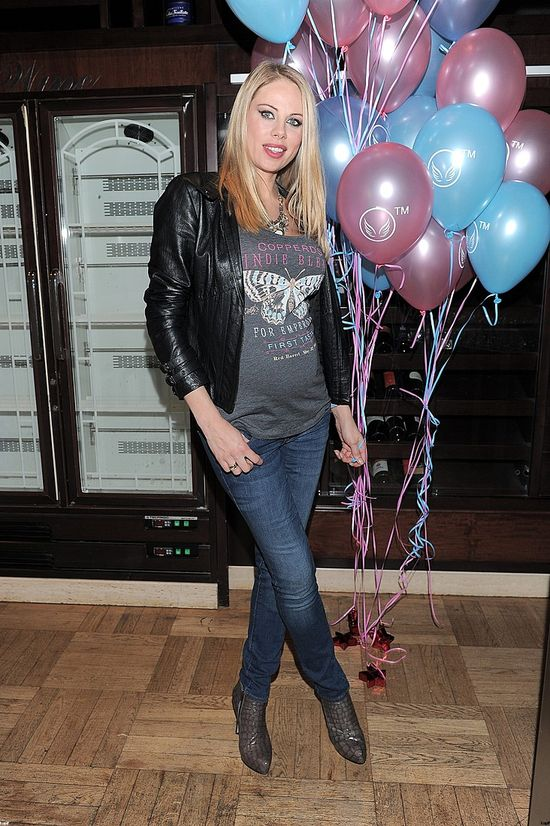 Magda Modra w zaawansowanej ciąży wybiera sportowy styl
