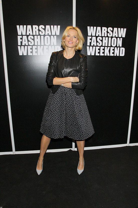 Stylizacje gwiazd podczas Warsaw Fashion Weekend