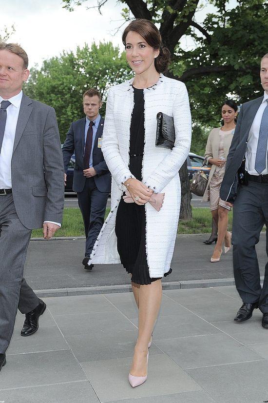 Duńska księżna Maria Elżbieta w Polsce zadała szyku
