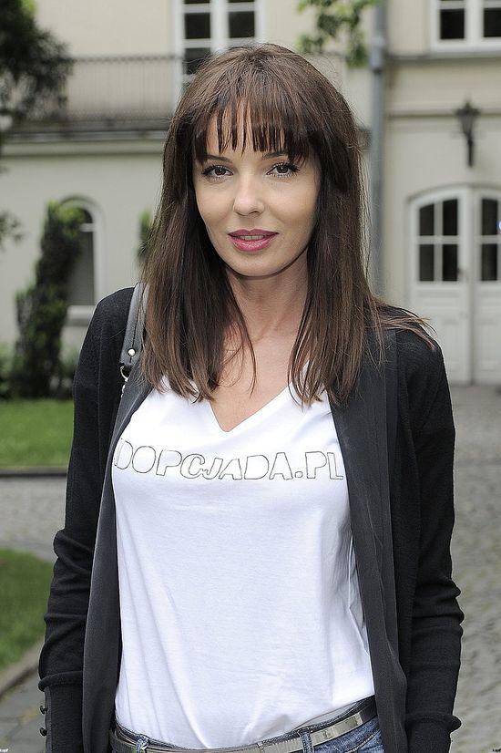 Agnieszka Włodarczyk zafundowała sobie grzywkę (FOTO)