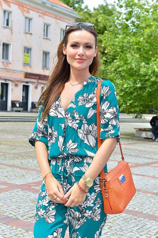 Piękna Marta Żmuda-Trzebiatowska w kombinezonie (FOTO)