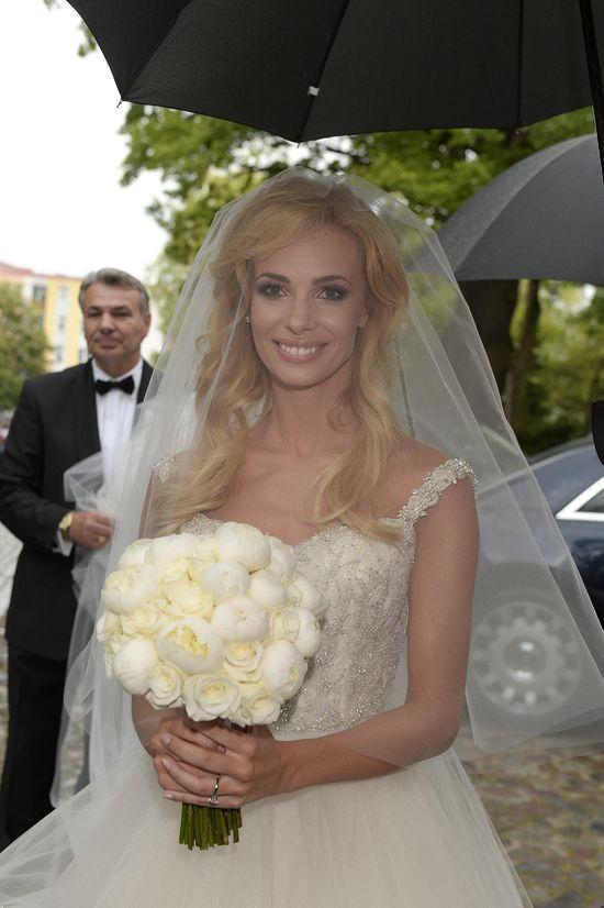 Suknia ślubna Izabeli Janachowskiej - jednak księżniczka!