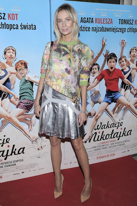 Agnieszka Szulim przesadziła z modelowaniem policzków?