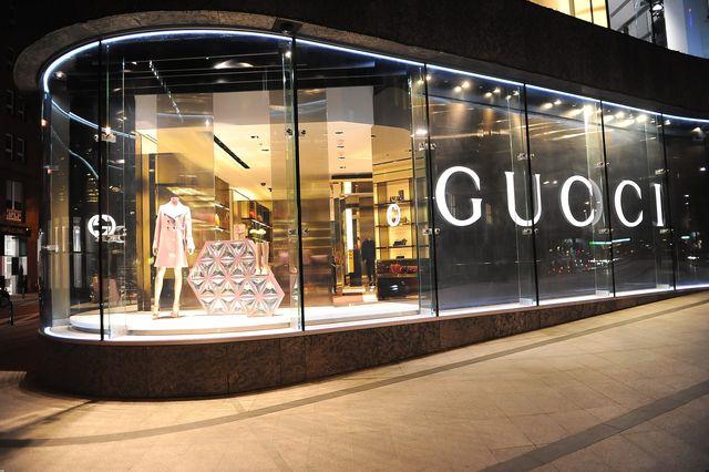 Kto pojawił się na ekskluzywnej imprezie w butiku Gucci?