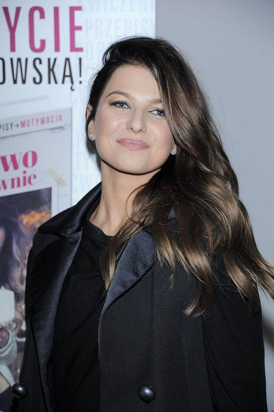 Ania Lewandowska w mini (FOTO)