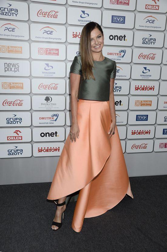 Anna Lewandowska w kreacji marki LaMania (FOTO)