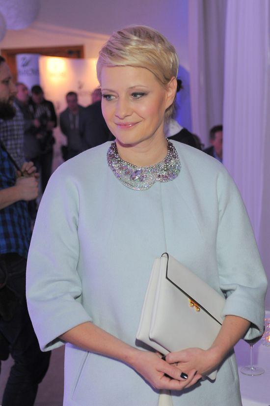 Małgorzata Kożuchowska w świetnej formie po porodzie! (FOTO)