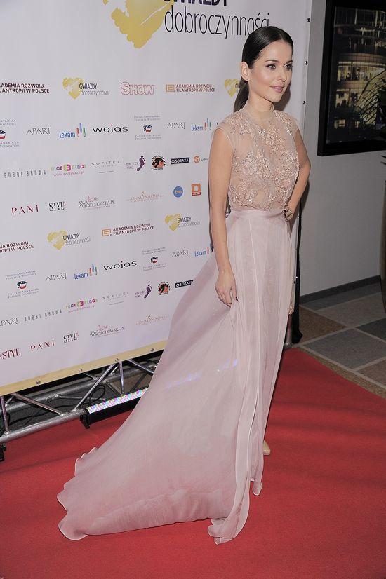 Paulina Sykut w kreacji godnej rozdania Grammy (FOTO)