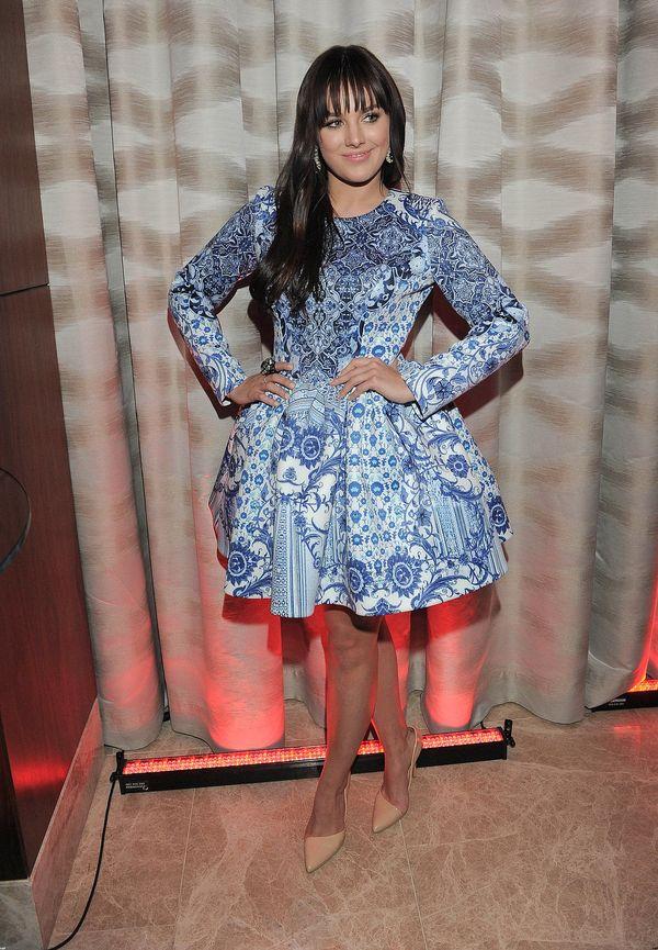 Odchudzona Ewa Farna w pięknej sukience Bizuu (FOTO)
