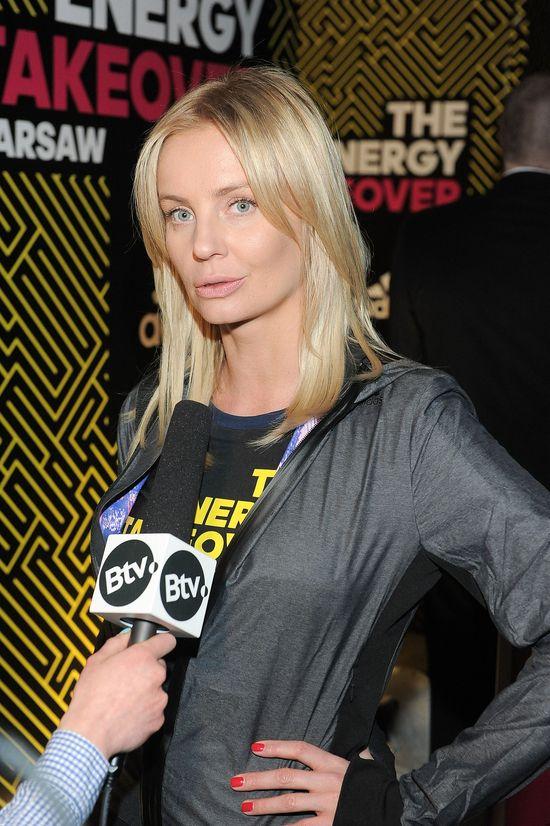 Agnieszka Szulim w kolorowych legginsach (FOTO)