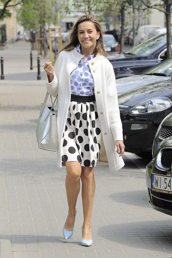 Kamilla Baar w ryzykownej stylizacji od Marc Cain (FOTO)
