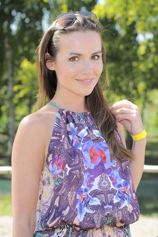 Marta Żmuda-Trzebiatowska w sukience maxi (FOTO)