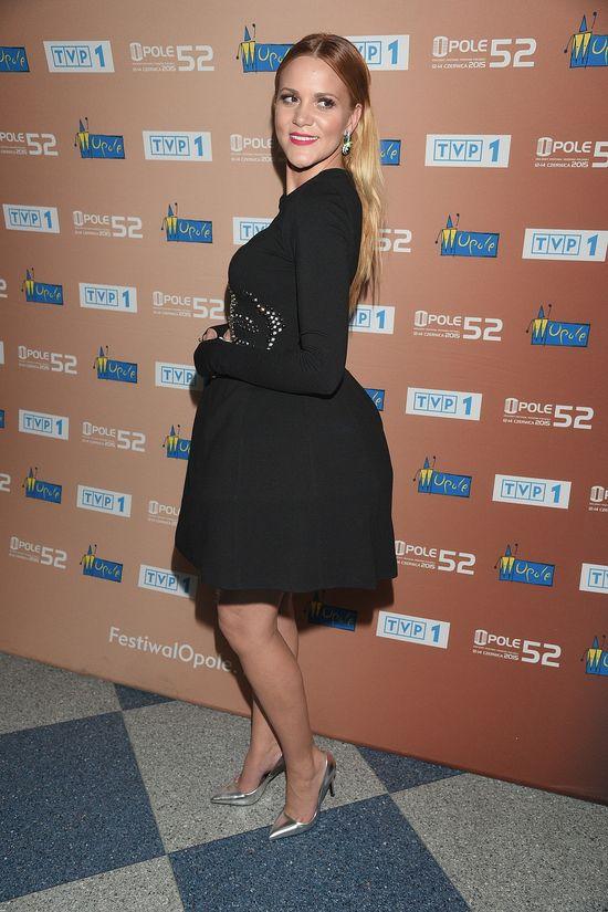 Dominika Gawęda w sukience jak klosz od lampy (FOTO)