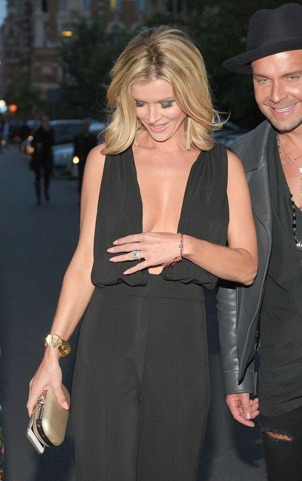 Joanna Krupa ubezpieczyła swój pierścionek zaręczynowy