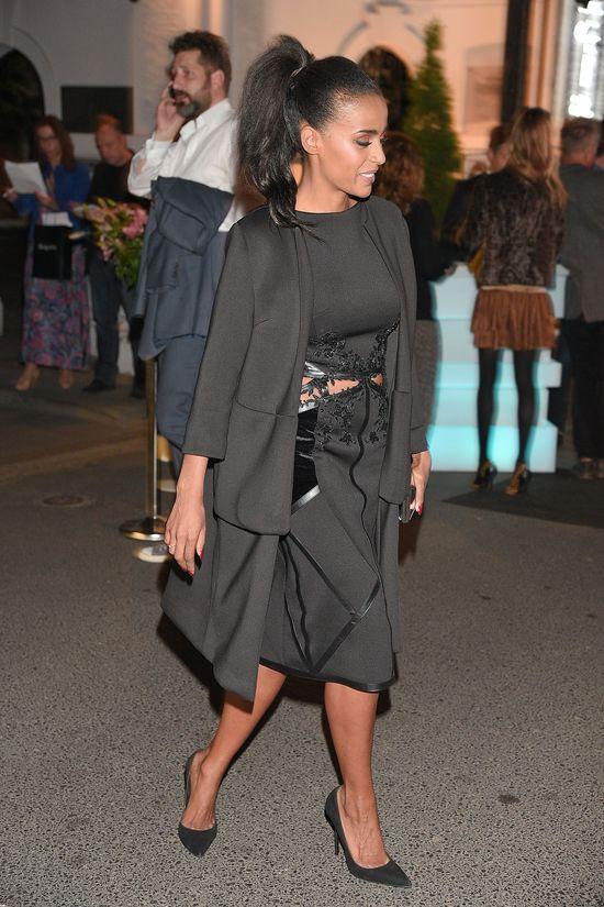 Ola Szwed na imprezę Playboya wybrała czerń (FOTO)