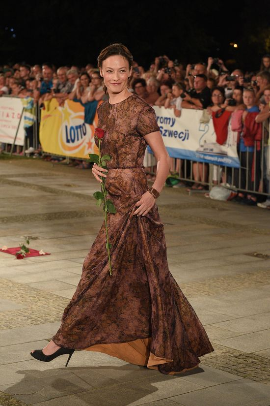 Magdalena Różczka - gwiazda na Festiwalu w Międzyzdrojach