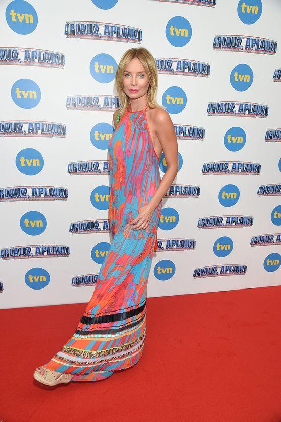 Agniszka Szulim w letniej sukience maxi (FOTO)