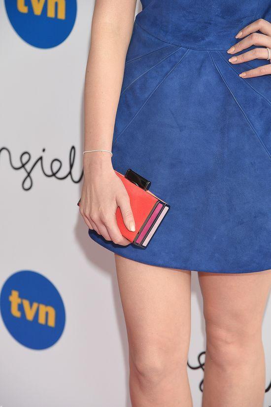Julia Kamińska w zamszowej sukience (FOTO)