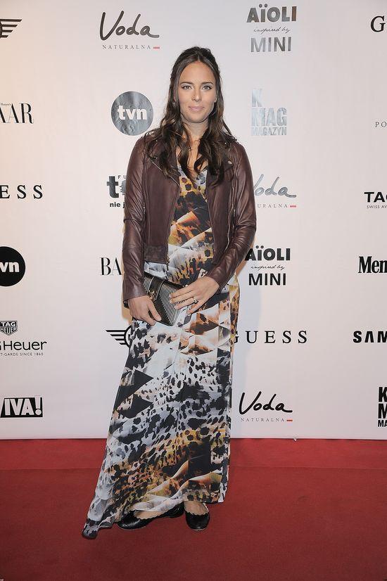 Anna Czartoryska zaprezentowała ciążowy jesienny look