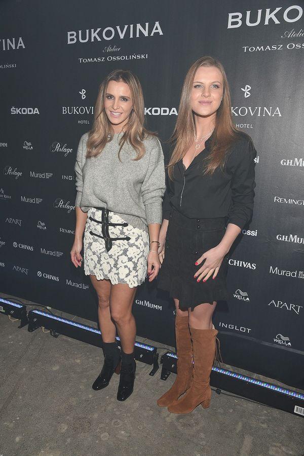 Sara Boruc i Ines Mannei lansują się na salonach (FOTO)