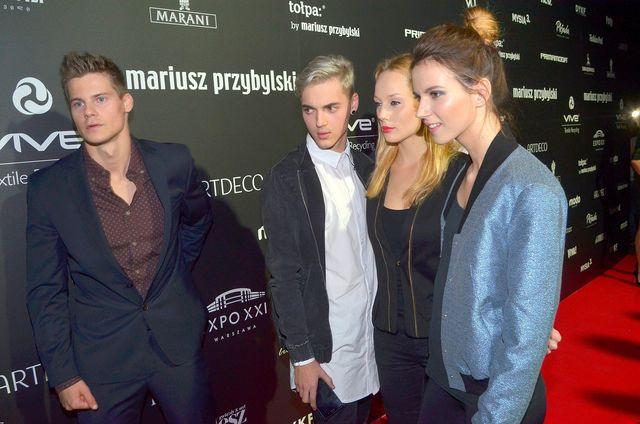 Ekipa Top Model rozpoczęła lans na salonach (FOTO)