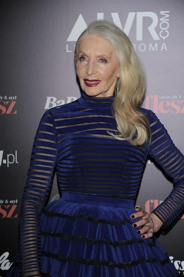 Helena Norowicz, 80-letnia aktorka, zachwyca na salonach
