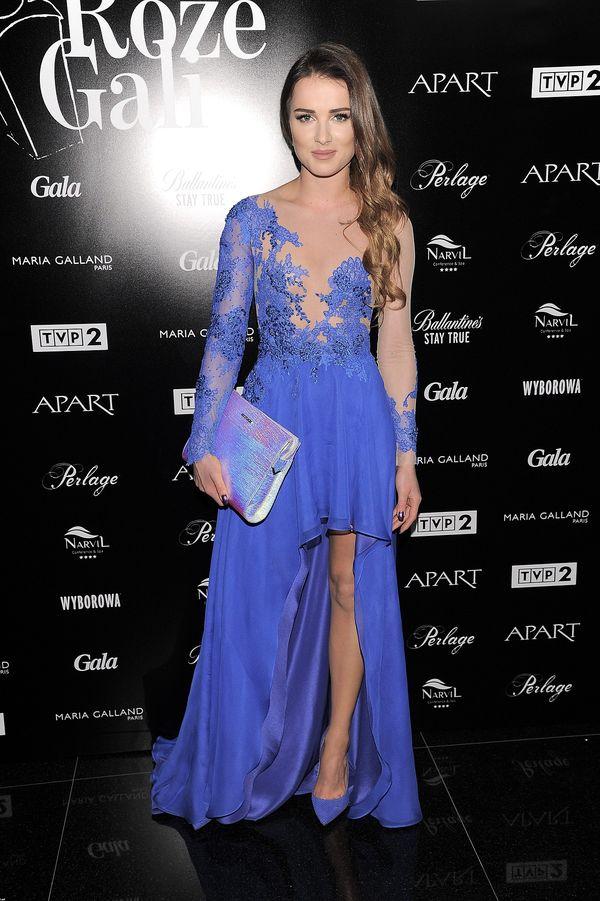 Maffashion o kobaltowej sukni: Zastanawiam, czy zasłużyłam