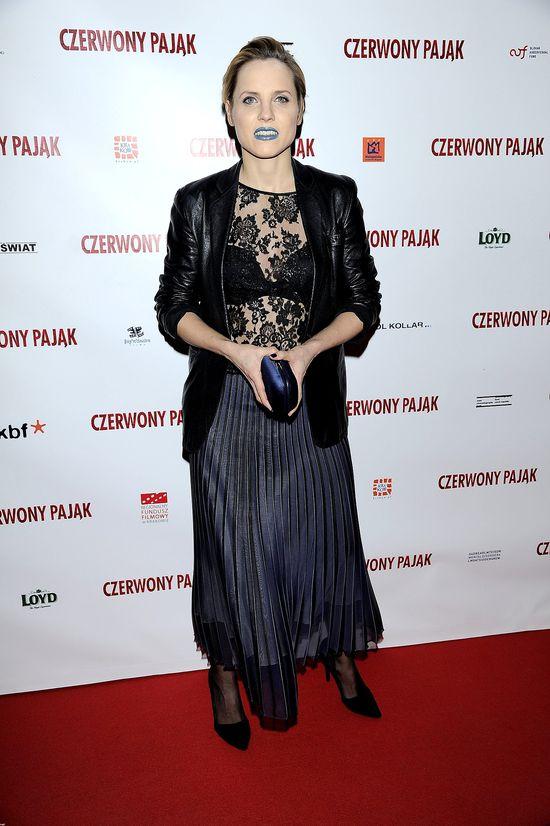 Julia Kijowska - koszmar na czerwonym dywanie (FOTO)