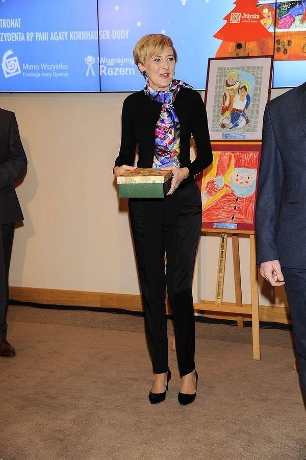 Pierwsza Dama znowu zachwyca swoim stylem? (FOTO)