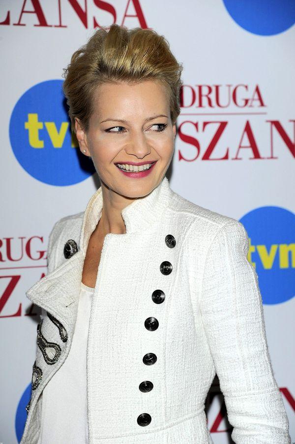 Małgorzata Kożuchowska zachwycała w białej marynarce (FOTO)