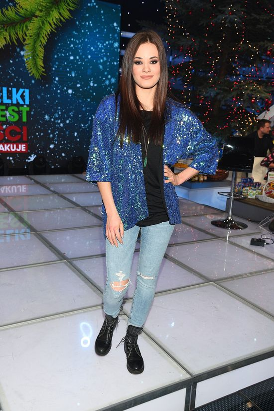Sylwestrowy look Natalii Szroeder (FOTO)