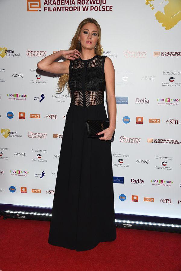 Marcelina Zawadzka nie ubrała sukienki na bal dziennikarzy