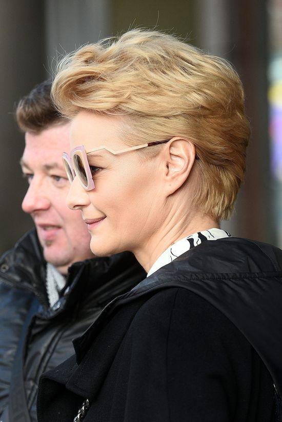 Małgorzata Kożuchowska błyszczy w wiosennym wydaniu
