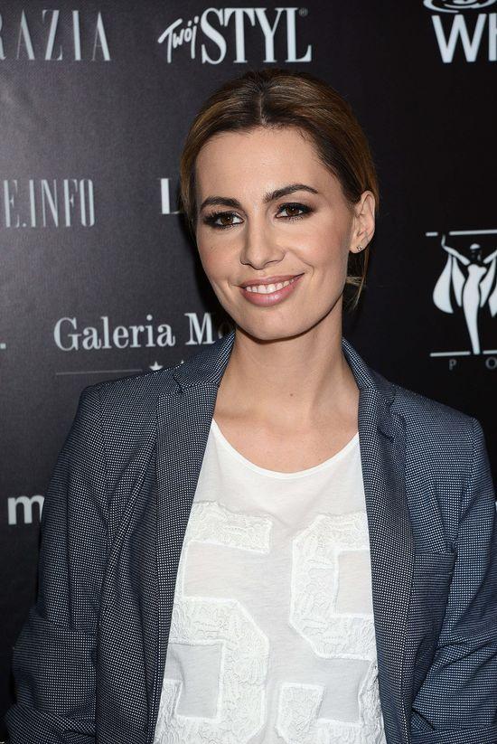 Agnieszka Popielewicz zrobiła furorę w eleganckim wydaniu