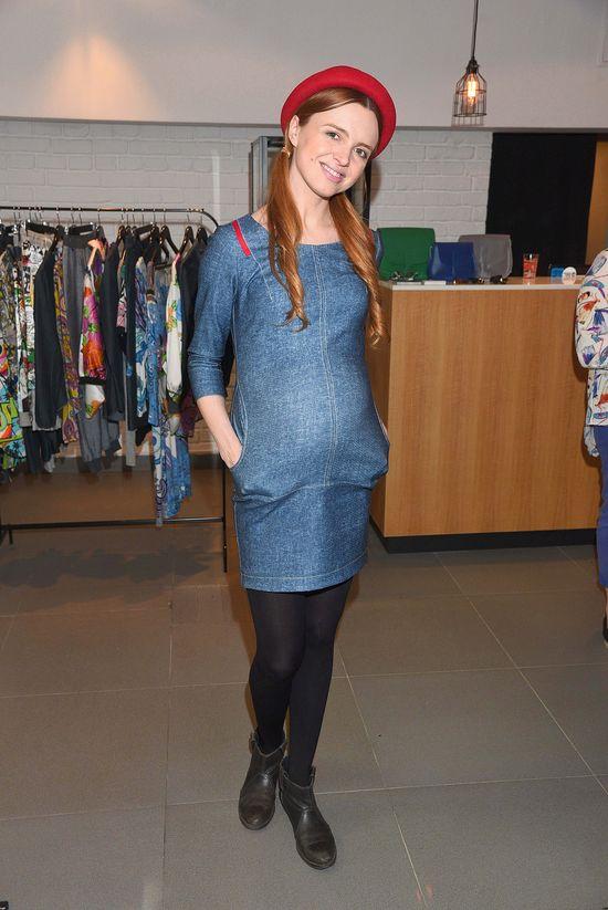 Ciążowa stylizacja Kasi Burzyńskiej - hit czy koszmar?