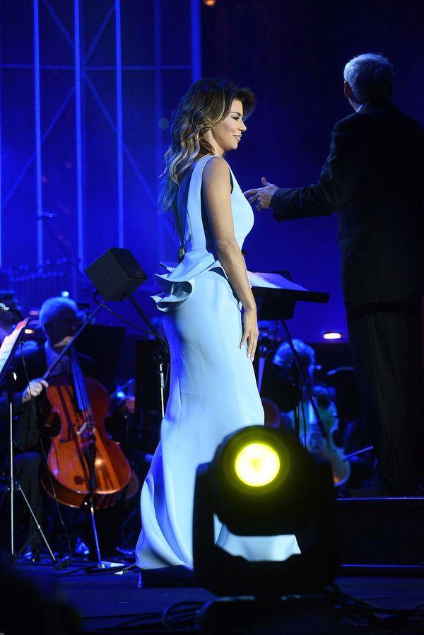 Edyta Górniak zachwyca w błękitnej sukience (FOTO)