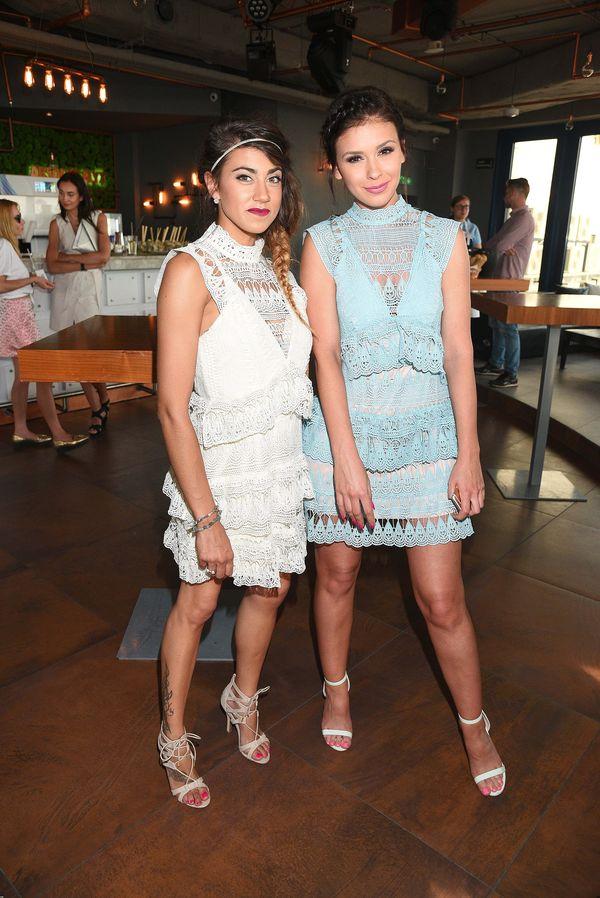 Klaudia Halejcio i Maja Hyży w takich samych sukienkach! (FOTO)