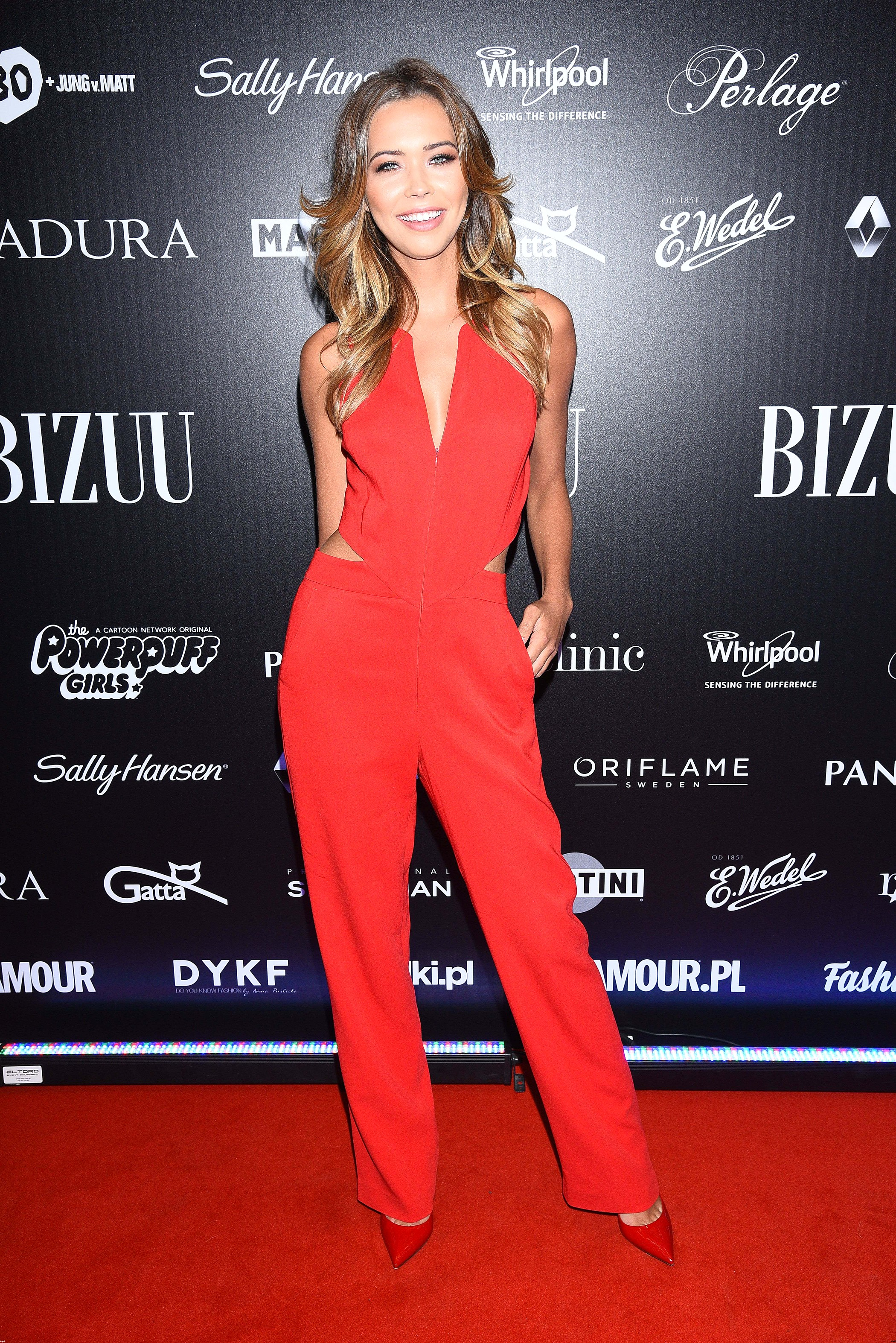 Sandra Kubicka - modelka Victoria's Secret na pokazie Bizuu