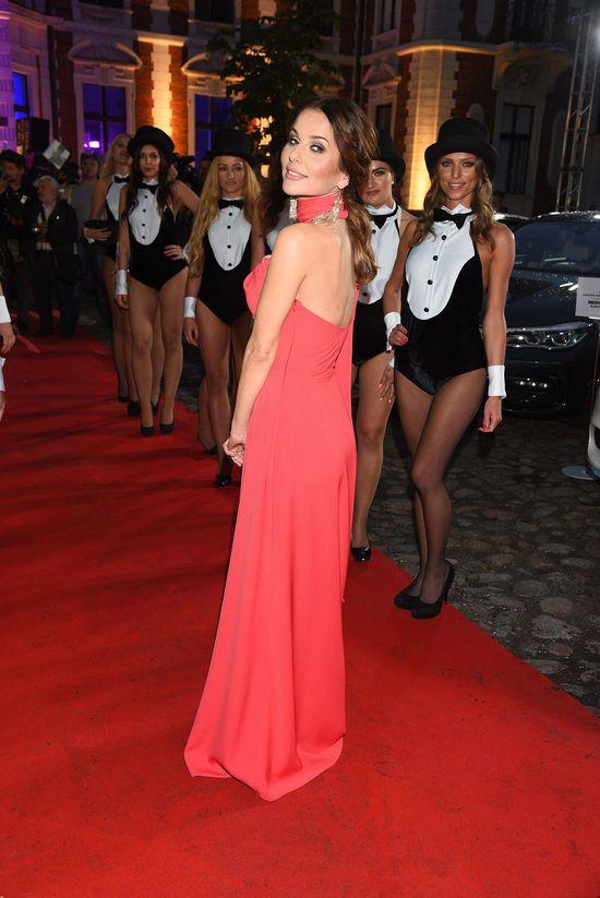 Paulina Syut jak grecka bogini na imprezie Playboya (FOTO)