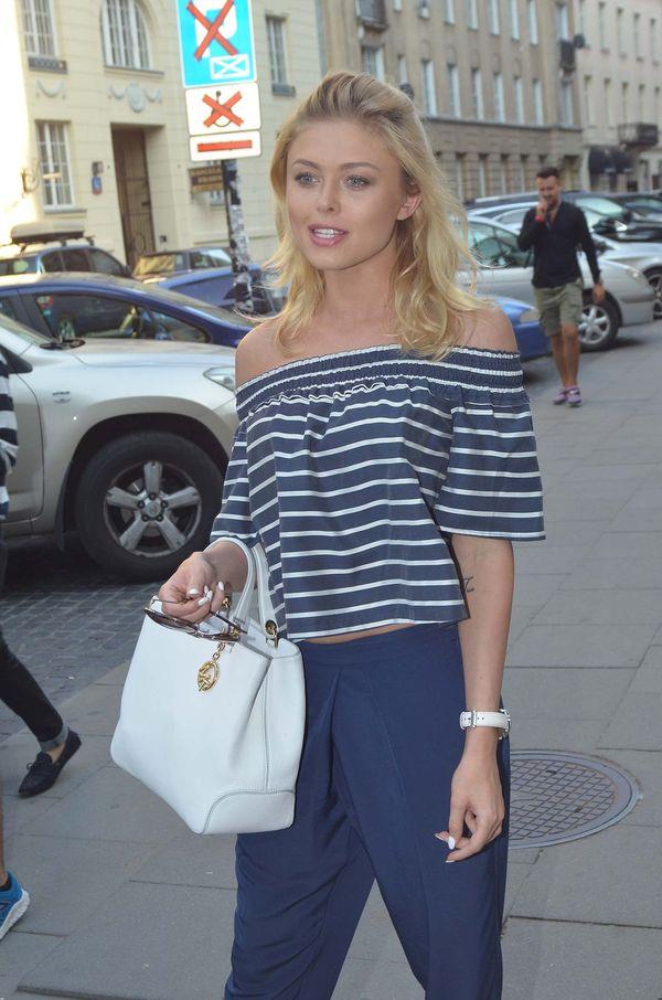 Joanna Opozda - właśnie TAK trzeba nosić styl marynarski!