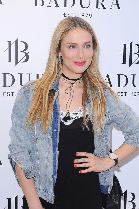Natalia Klimas w sukience H&M na imprezie Badury (FOTO)
