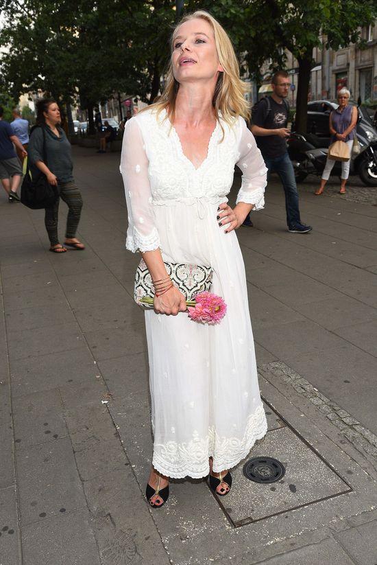 Magdalena Cielecka w białej sukience - zachwyciła? (FOTO)