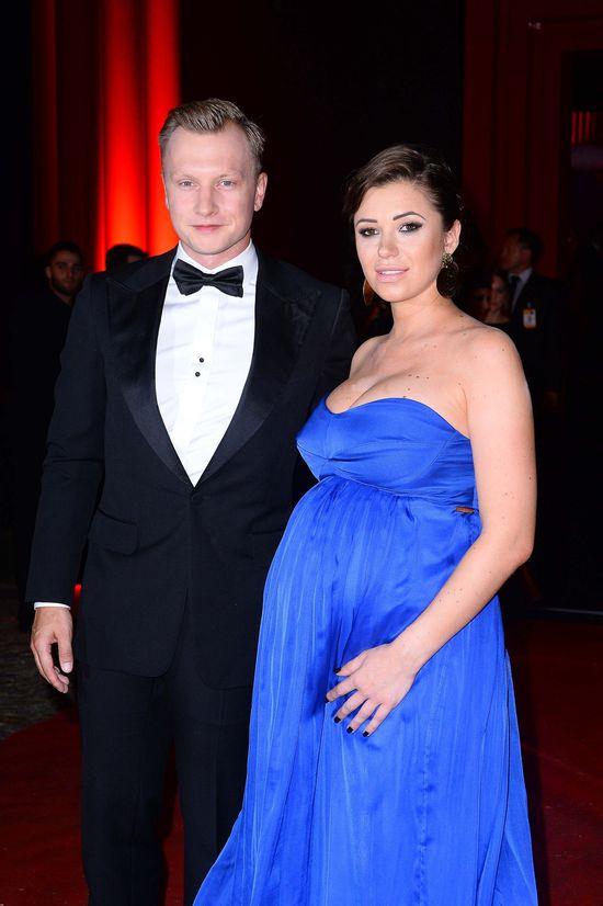 Która gwiazda pokazała ogromny ciążowy brzuszek na Balu Fundacji TVN?