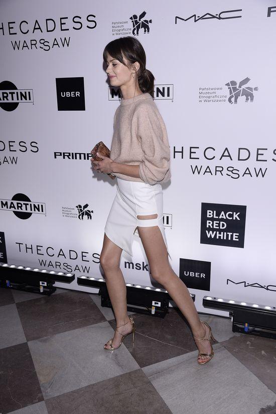 Oszalejecie na punkcie spódnicy słynnej modelki Marty Dyks (FOTO)
