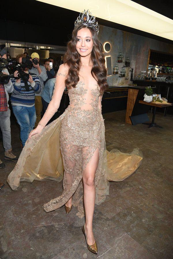 Izabela Krzan prezentuje dwie piękne suknie na wybory Miss Universe (FOTO)