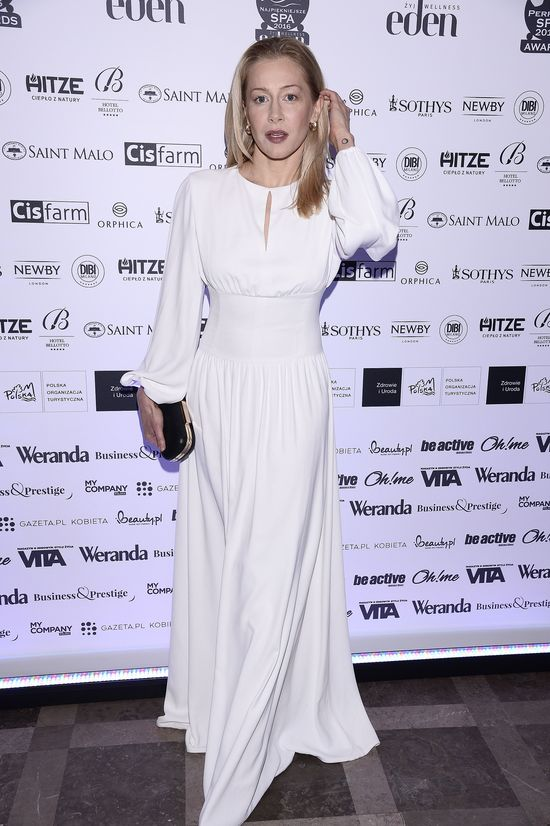 Katarzyna Wranke w małej białej, która niekoniecznie Wam się spodoba